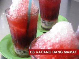 Wisata Kuliner Palembang | es kacang merah bang mamat